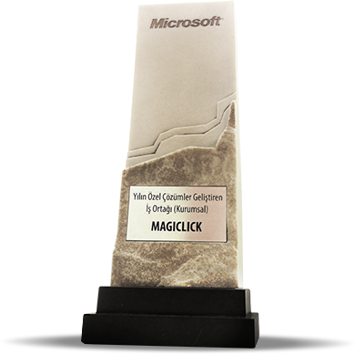 MagiClick Wins Microsoft Partner of the Year Award